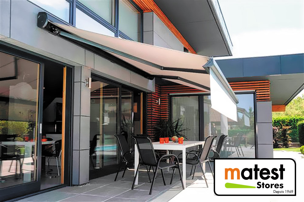 store banne balcon terrasse store fen tre store jardin paris. Black Bedroom Furniture Sets. Home Design Ideas